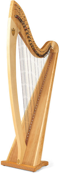 Lyon & Healy Troubadour VI Lever Harp NA