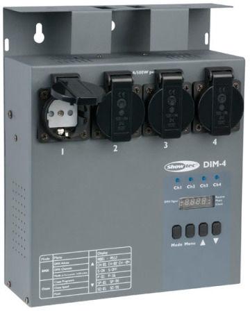Showtec DIM-4 4-Ch. Dimmer/Switcher