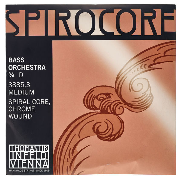 Thomastik Spirocore D Bass 3/4 medium