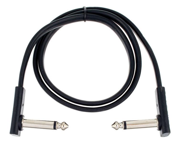Rockboard Flat Patch Cable Black 60cm