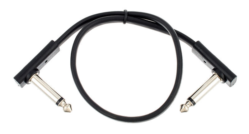 Rockboard Flat Patch Cable Black 30 cm
