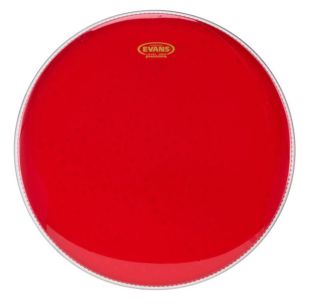 "Evans 22"" Hydraulic Red Bass Drum"