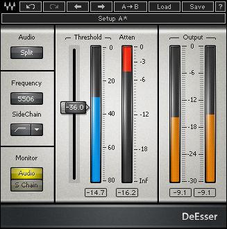 Waves DeEsser