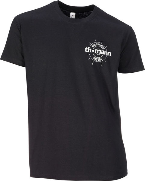 Thomann T-Shirt Black XXL