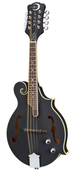 Luna Guitars BGM Moon F Mandolin BK