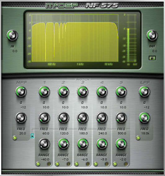 McDSP NF575 Noise Filter Native