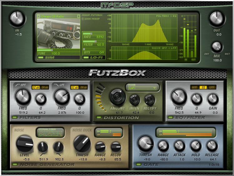 McDSP FutzBox HD