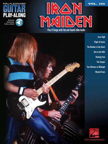 Hal Leonard Guitar Play-Along Iron Maiden
