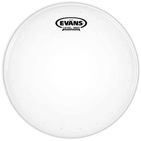 """Evans 12"""" Genera HDD Coated Snare"""