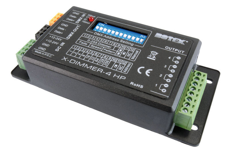 Botex Controller LED X-Dimmer 4HP