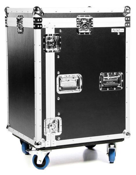 Flyht Pro L-Rack 12U/10U Profi SF Wheels