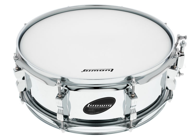 """Ludwig 14""""x05"""" Accent CS Steel Snare"""