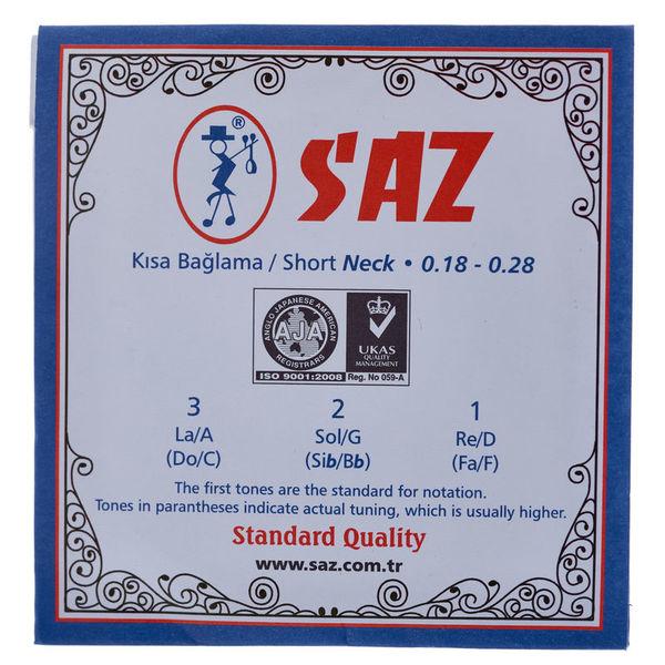 Saz 651A Short Neck Saz Strings