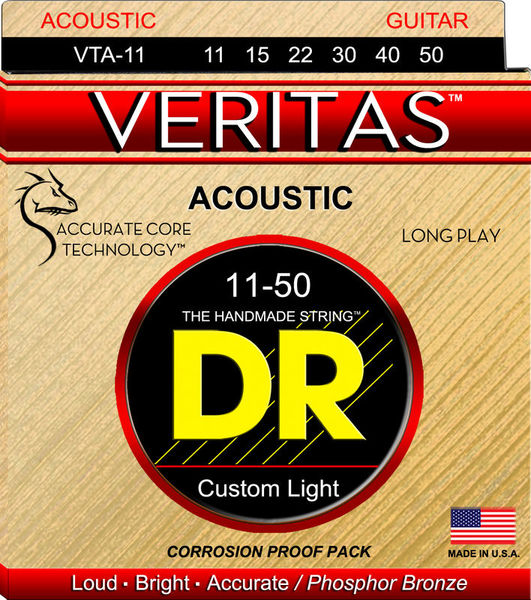 DR Strings Veritas Phosphor Bronze VTA-11