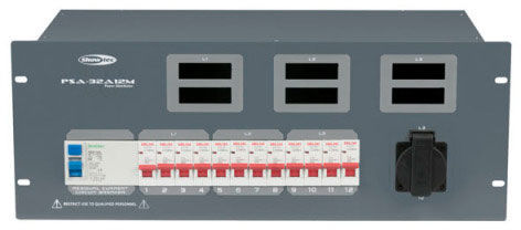 Showtec PSA-32A12M Power Distributor