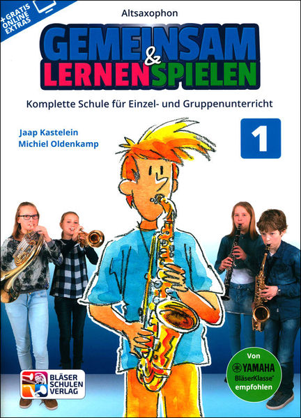 Bläser-Schulen-Verlag Gemeinsam Lernen 1 A-Sax