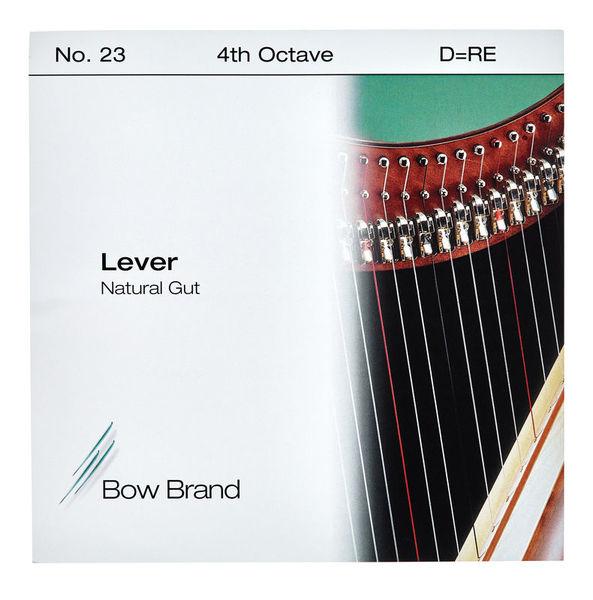 Bow Brand NG 4th D Gut Harp String No.23