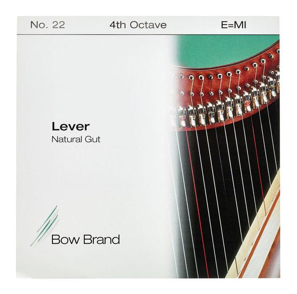 Bow Brand NG 4th E Gut Harp String No.22