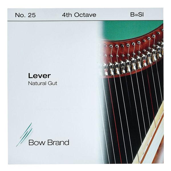 Bow Brand NG 4th B Gut Harp String No.25