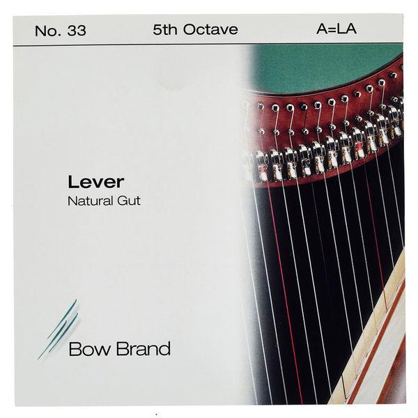Bow Brand NG 5th A Gut Harp String No.33