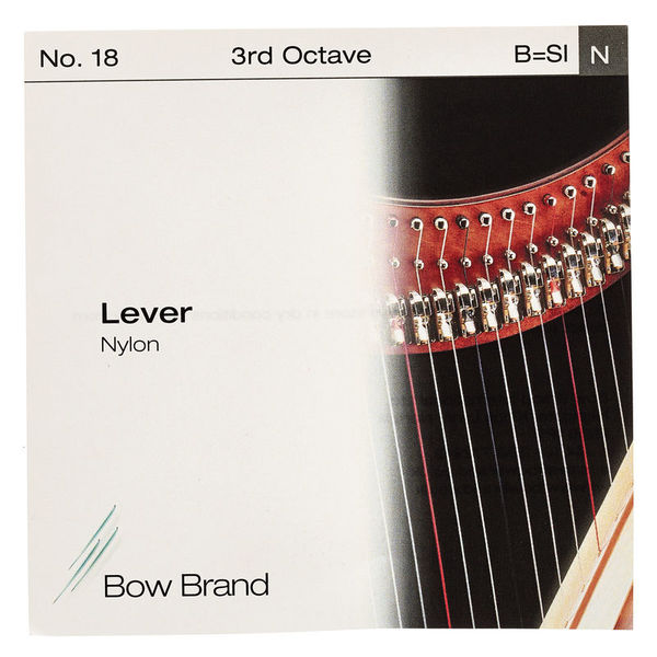 Bow Brand Lever 3rd B Nylon Str. No.18