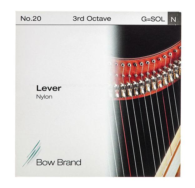 Bow Brand Lever 3rd G Nylon String No.20