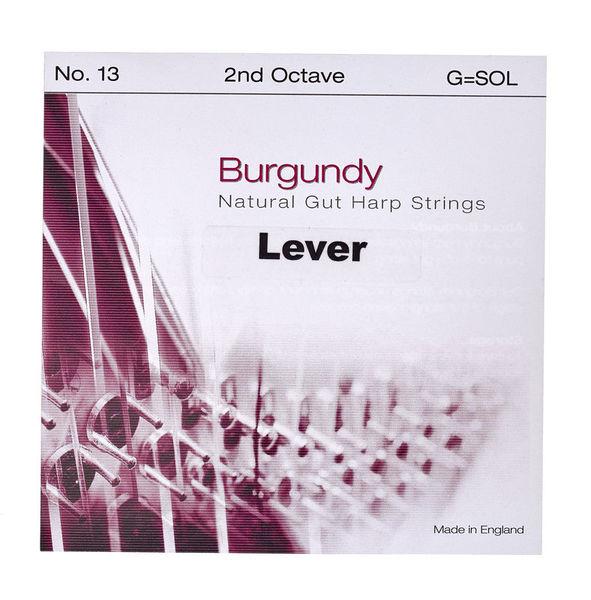 Bow Brand Burgundy 2nd G Gut Str. No.13