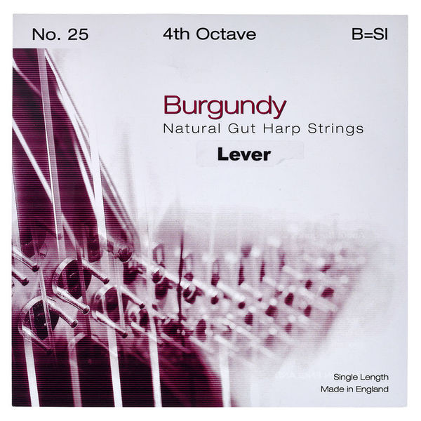 Bow Brand Burgundy 4th B Gut Str. No.25