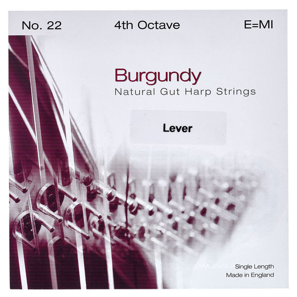 Bow Brand Burgundy 4th E Gut Str. No.22