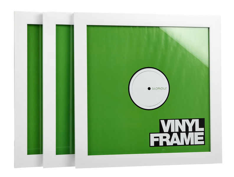 "Glorious 12"" Vinyl Frame Set White"