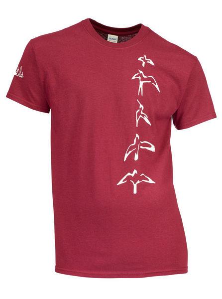 PRS T-Shirt Bordeaux Bird M