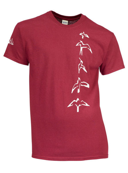 PRS T-Shirt Bordeaux Bird XXL