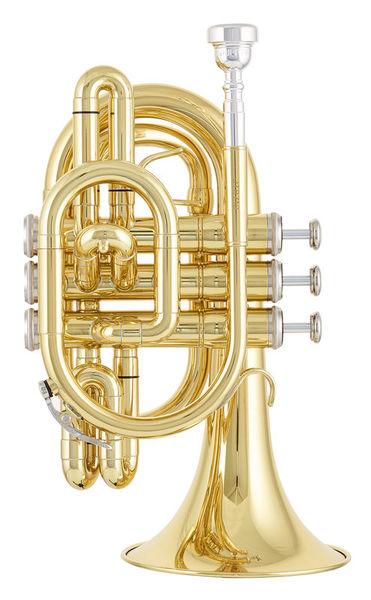 Jupiter JTR710 Pocket Trumpet Lacquer