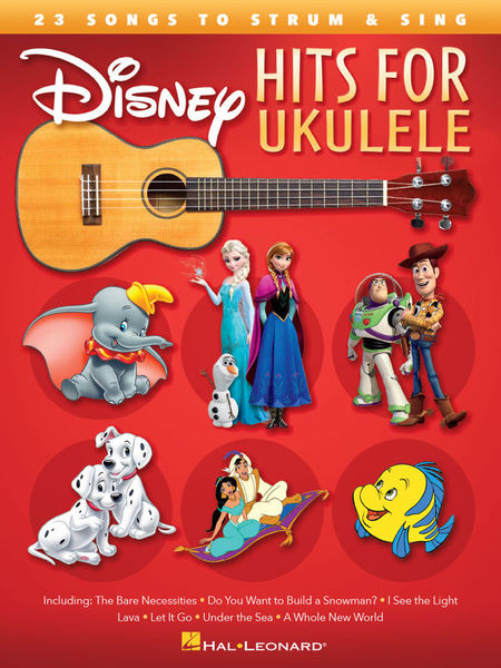 Hal Leonard Disney Hits For Ukulele