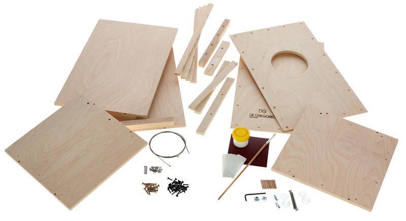 DG De Gregorio Creativo Cajon Construct. Kit