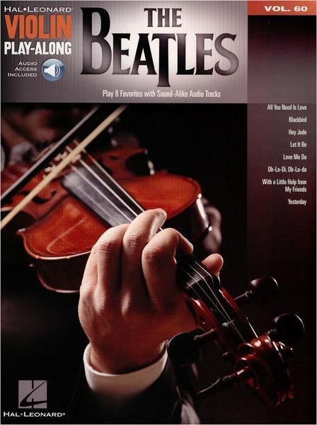 Hal Leonard Violin Play-Along Beatles