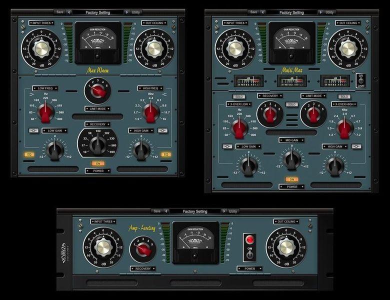 Nomad Factory Analog Mastering Tools