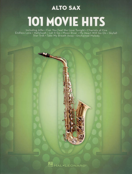 Hal Leonard 101 Movie Hits for Alto Sax