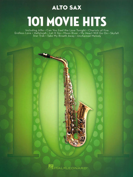Hal Leonard 101 Movie Hits for Alto Sax