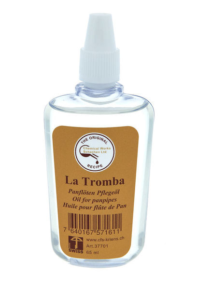 La Tromba Oil for Pan Flutes