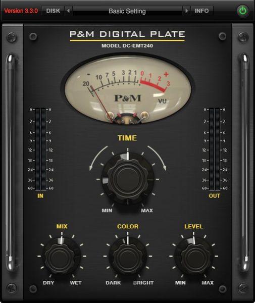 Plug And Mix Digital Plate