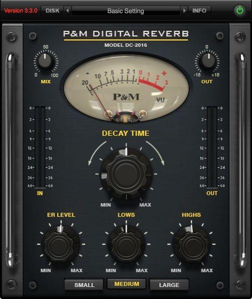 Plug And Mix Digital Reverb