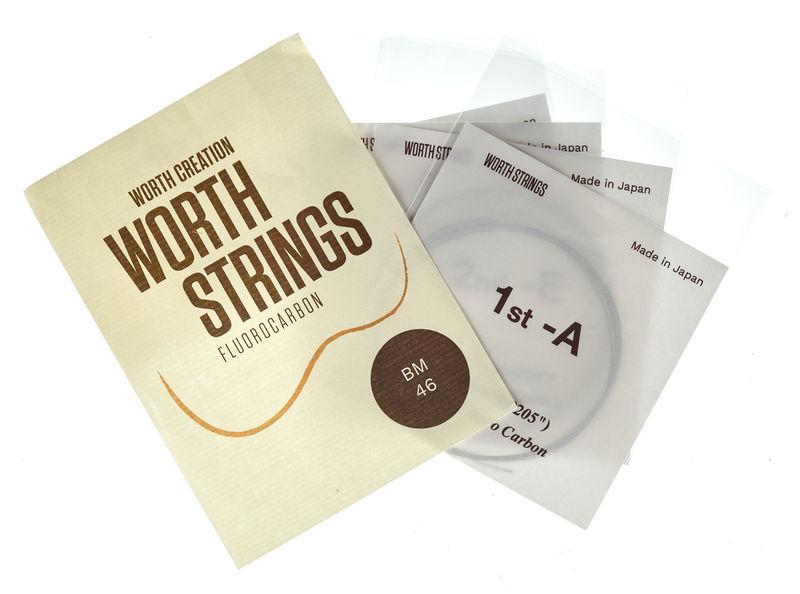 Worth Strings BM Concert/Soprano Ukulele Set