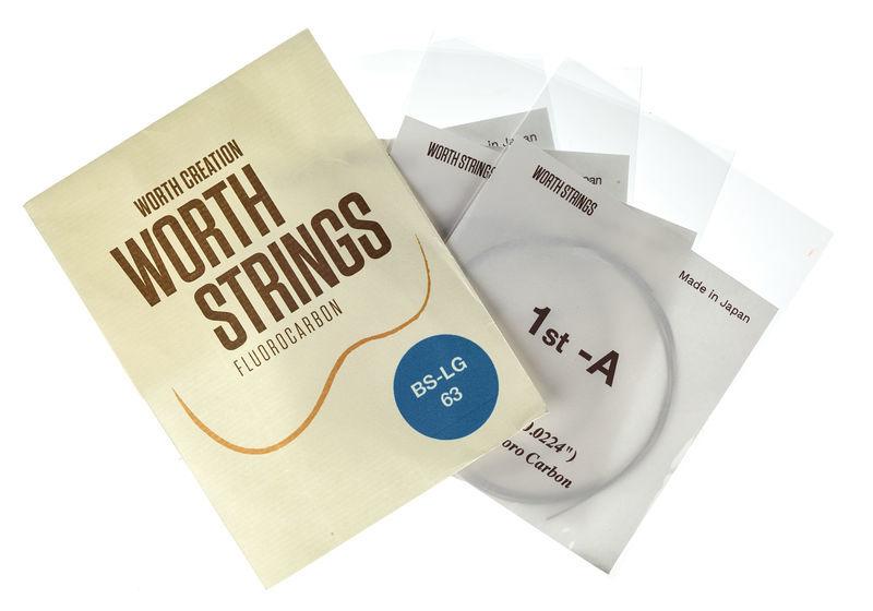 Worth Strings BS-LG Soprano Ukulele Set