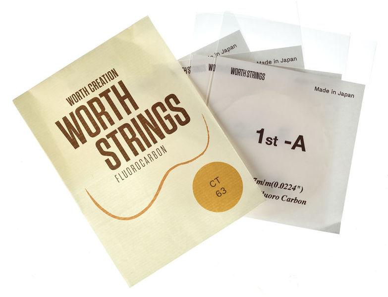 Worth Strings CT Tenor Ukulele Set