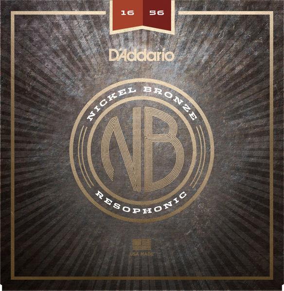 Daddario NB1656 Nickel Bronze Reso
