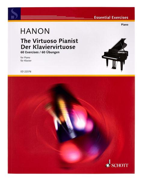 Schott The Virtuoso Pianist Hanon