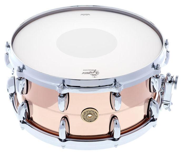 """Gretsch Drums 14""""x6,5"""" USA Bronze Snare Drum"""