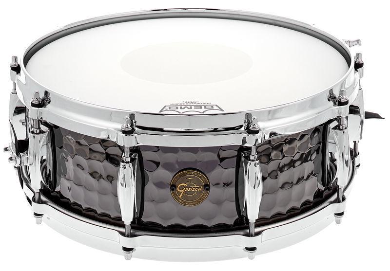 "Gretsch Drums 14""x5"" Black Hammered Snare"