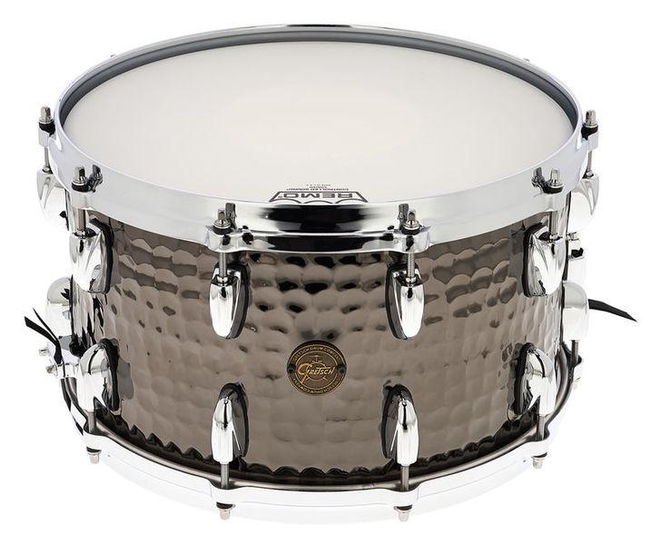 "Gretsch Drums 14""x8"" Black Hammered Snare"